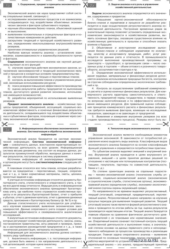 Функции организации шпаргалка